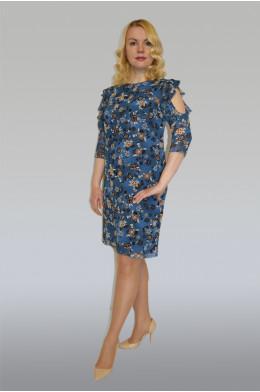877. Платье из Шифона с подкладом