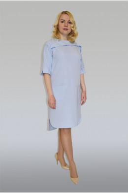 873. Платье из костюмной летней ткани