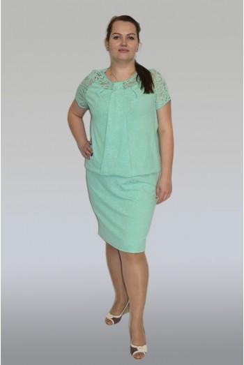 521.  Платье из тонкого трикотажа
