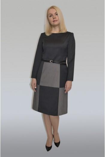 581. Платье комбинированное