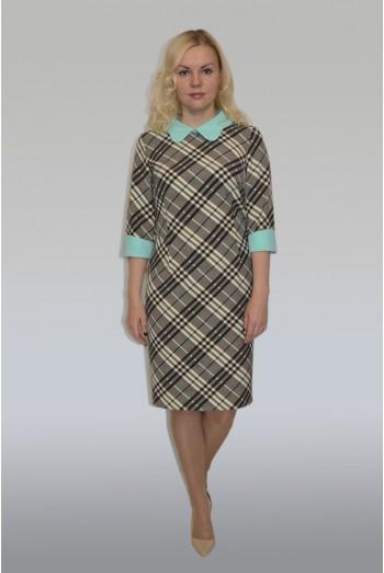 675. Деловое оригинальное платье