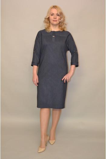 957. Платье из Костюмной ткани
