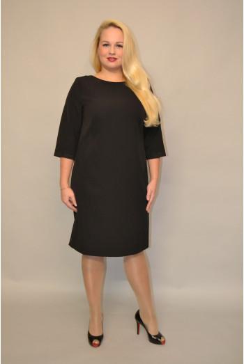 983. Черное Платье из Крепа